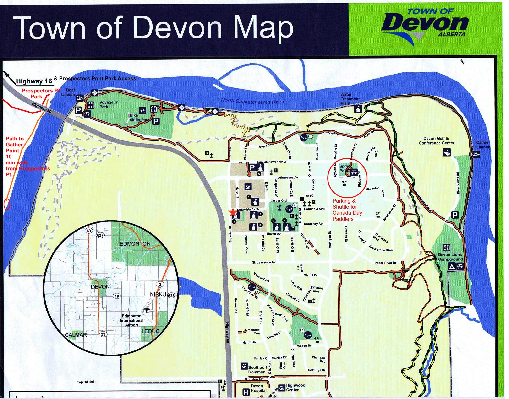 Fort edmonton canoe brigade maps site plans canadian voyageur devon town map gumiabroncs Images